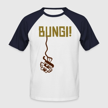 Bungi Monkey - Men's Baseball T-Shirt