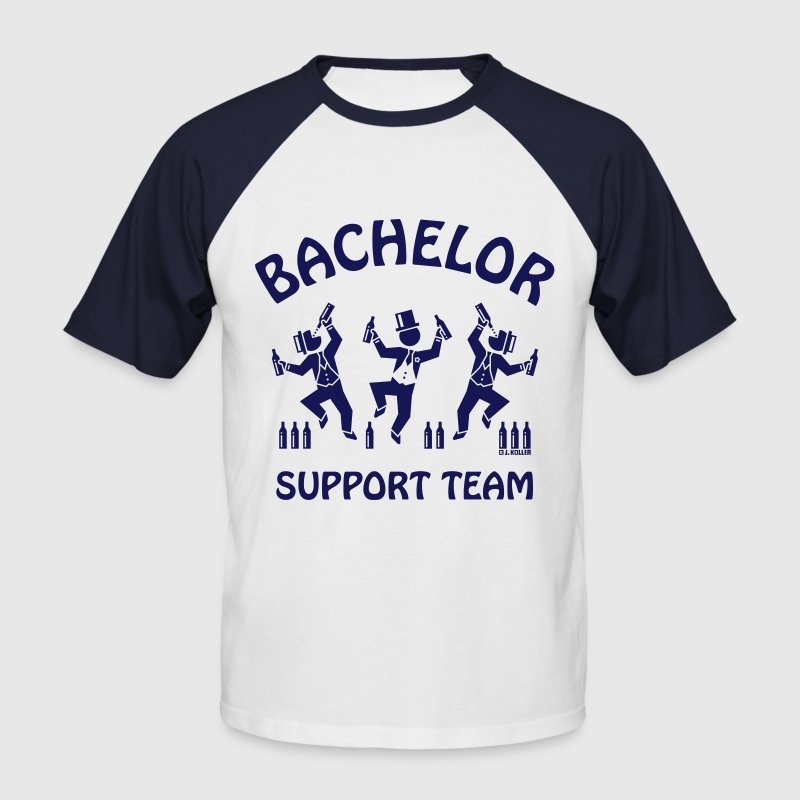 Bachelor Support Team / Beer Drinkers (Stag Party) - Men's Baseball T-Shirt
