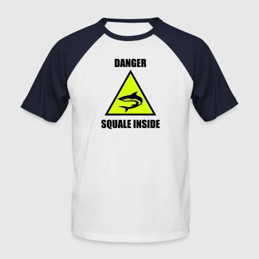 Squale Danger Squale Inside - T-shirt baseball manches courtes Homme