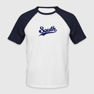 south - Männer Baseball-T-Shirt