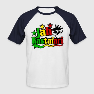 Roots Ragga Dance Hall Rasta jah rastafari - Men's Baseball T-Shirt