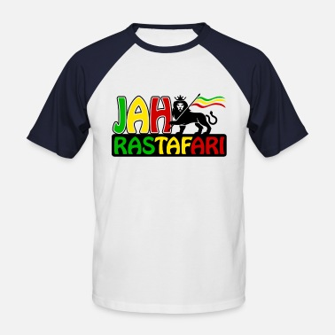 Rastafari jah rastafari - Men's Baseball T-Shirt