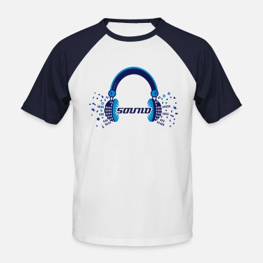 Sound Designer Headphones Sound Design - Men's Baseball T-Shirt