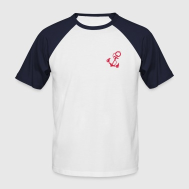 L'ancre - T-shirt baseball manches courtes Homme