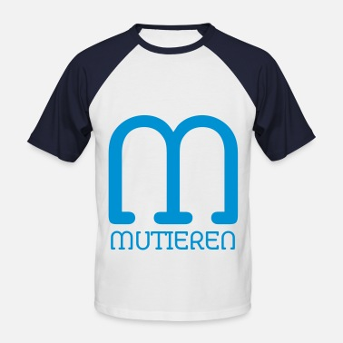 Mutation mutate - Men's Baseball T-Shirt
