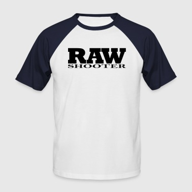 RAW Shooter - Männer Baseball-T-Shirt