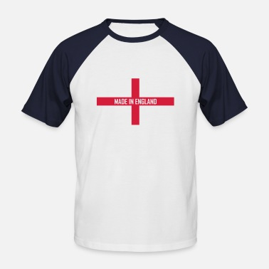 Made In England Made in England baseball shirt - Men's Baseball T-Shirt