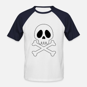 Tête de mort Pirate - ani T-shirt Homme   Spreadshirt 02290b5af92d