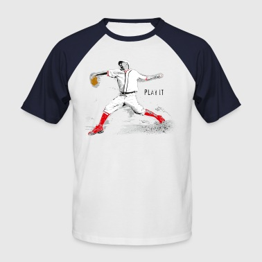 Pitcher - Männer Baseball-T-Shirt
