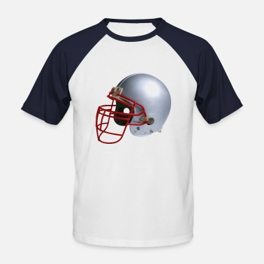Cool Sports Helmet, football, cool, sport, - Men's Baseball T-Shirt