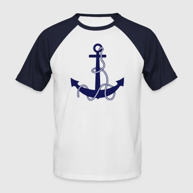 anchor - Men's Baseball T-Shirt