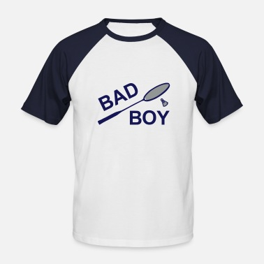 Badminton bad boy 2 - T-shirt baseball manches courtes Homme