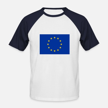 Europe Flag Europe flag - Men's Baseball T-Shirt