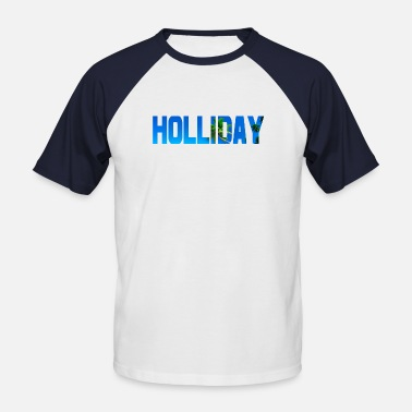 Holiday Holliday - T-shirt baseball manches courtes Homme