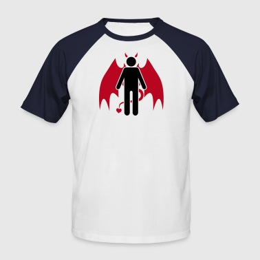 Sex Devil Devil Man - Men's Baseball T-Shirt