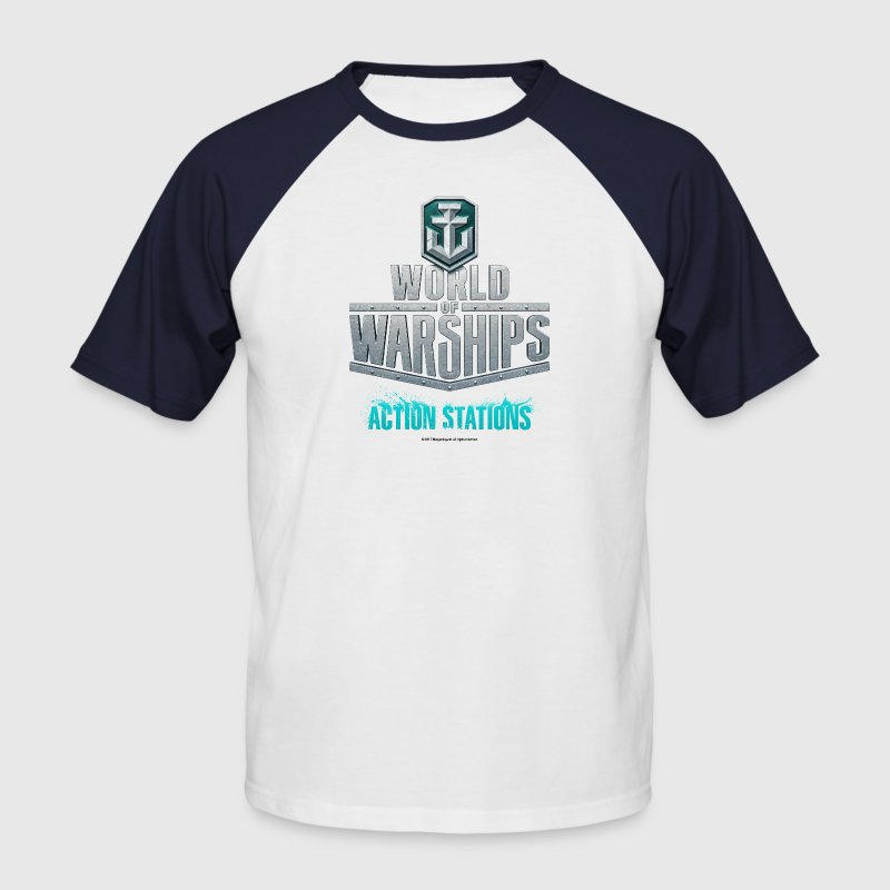 World of Warships Logo - Men's Baseball T-Shirt