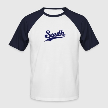 south - Men's Baseball T-Shirt