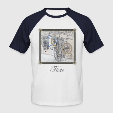 Fixie bikes - Men's Baseball T-Shirt