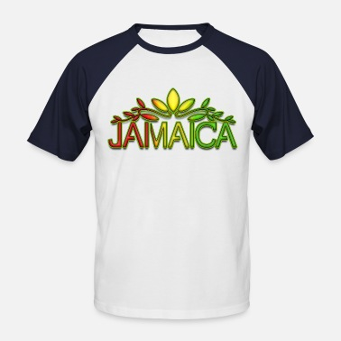 Dub Jamaica jamaica - Men's Baseball T-Shirt