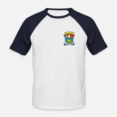 St Pierre Et Miquelon St Pierre et Miquelon - T-shirt baseball manches courtes Homme