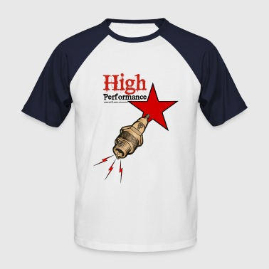 High high performance - T-shirt baseball manches courtes Homme