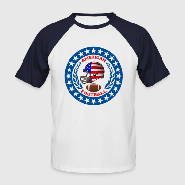 american football - T-shirt baseball manches courtes Homme