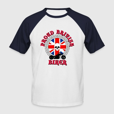 Proud British Biker - Men's Baseball T-Shirt