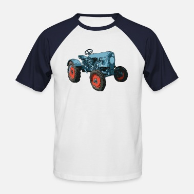 Driving Tractor tractor - Men's Baseball T-Shirt