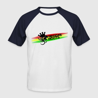 reggae roots - Men's Baseball T-Shirt