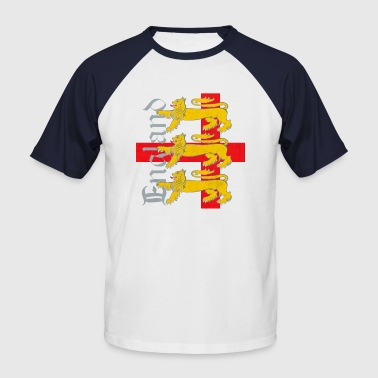 3 Lions St George flag - Men's Baseball T-Shirt