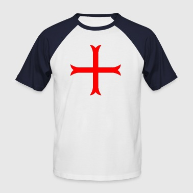 Knight Templar cross of the Templars - Men's Baseball T-Shirt