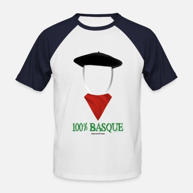 Basque Béret Basque t-shirt - T-shirt baseball manches courtes Homme