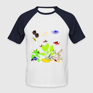My Fish Tank 2 - Men's Baseball T-Shirt