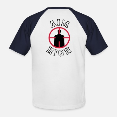 Aim AIM HIGH - Männer Baseball T-Shirt