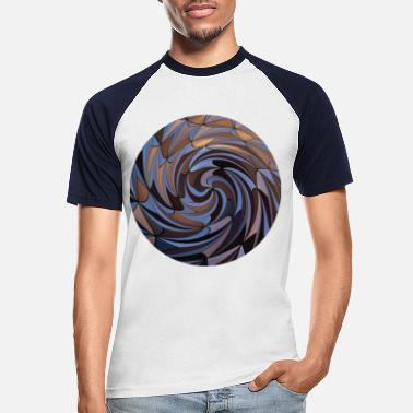 Twist Shapes Twisted, Shapes Twisted. - Men's Baseball T-Shirt