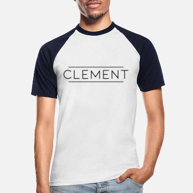 Clement Clement Black - Mannen baseball T-Shirt