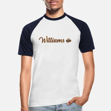 Williams Williams Cafe - Miesten baseballpaita