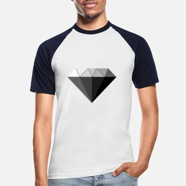 Diamond, Shades, - Männer Baseball T-Shirt