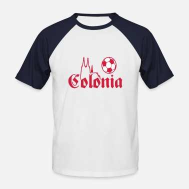 Colonia Cologne - Colonia football - Men's Baseball T-Shirt