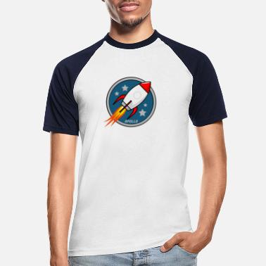 Mission Apollo Mission - Männer Baseball T-Shirt