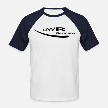 UWR Germany - Männer Baseball T-Shirt