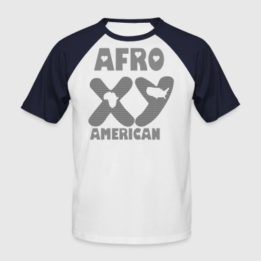 Chromosome yx afro american chromosomes - T-shirt baseball manches courtes Homme