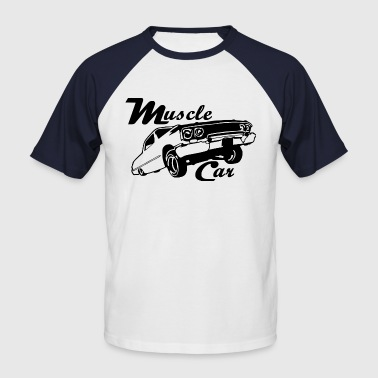 Muscle car  - T-shirt baseball manches courtes Homme