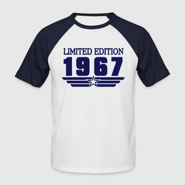 1967 - T-shirt baseball manches courtes Homme