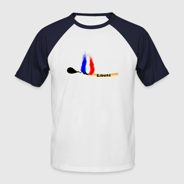 allumette fn - T-shirt baseball manches courtes Homme