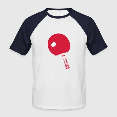 raquette pingpong1 - T-shirt baseball manches courtes Homme