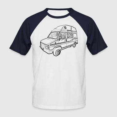 C25 Camperbus - Men's Baseball T-Shirt
