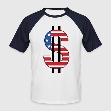 dollar - T-shirt baseball manches courtes Homme