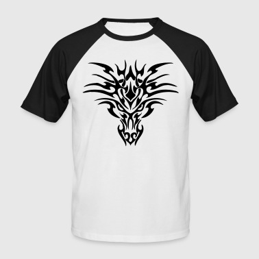 dragon tribal - T-shirt baseball manches courtes Homme