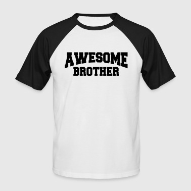 Awesome Brother - Camiseta béisbol manga corta hombre